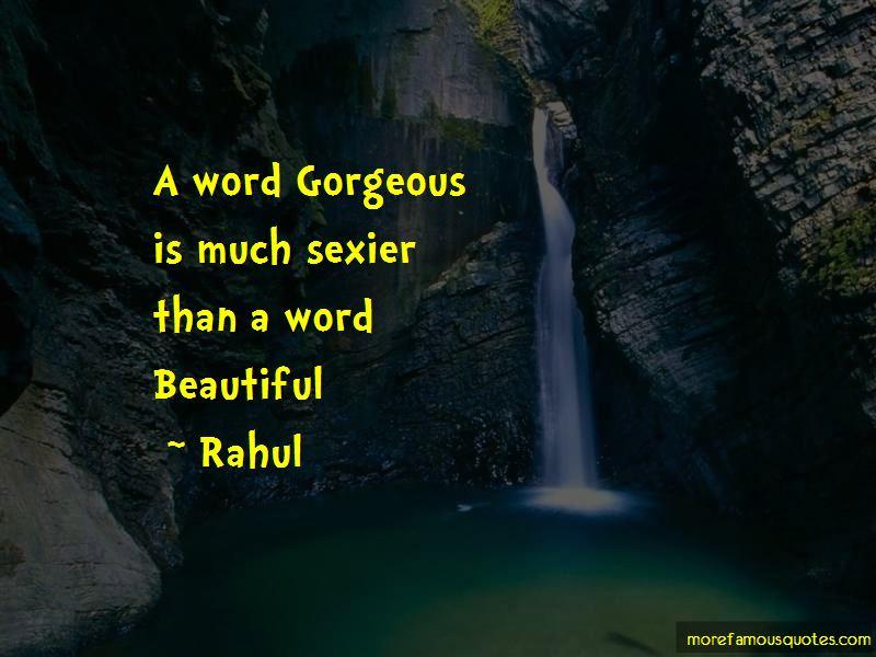 Rahul Quotes