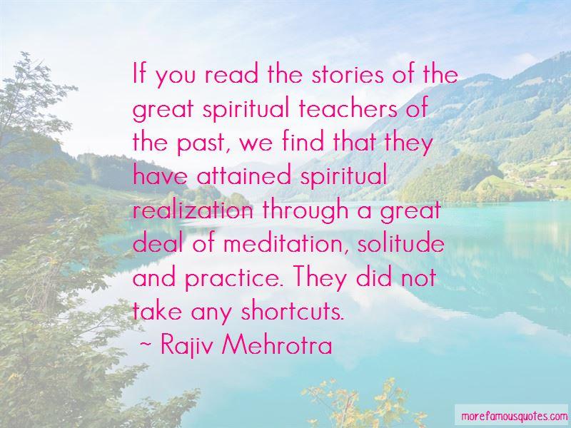 Rajiv Mehrotra Quotes