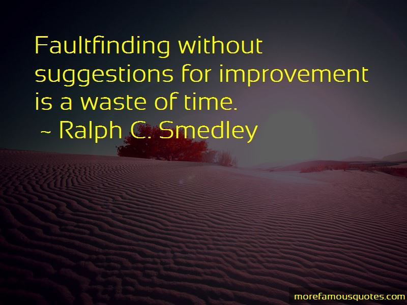 Ralph C. Smedley Quotes
