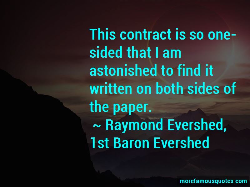 Raymond Evershed, 1st Baron Evershed Quotes