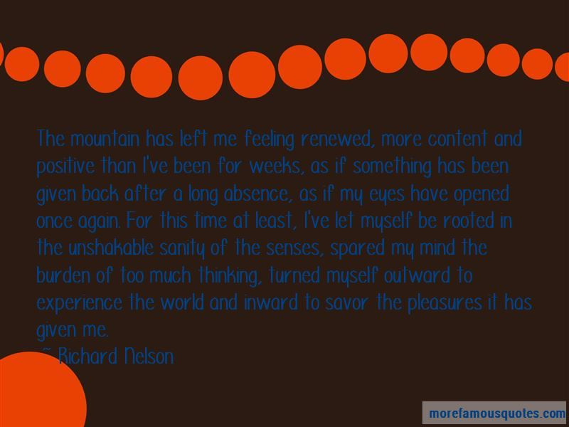 Richard Nelson Quotes