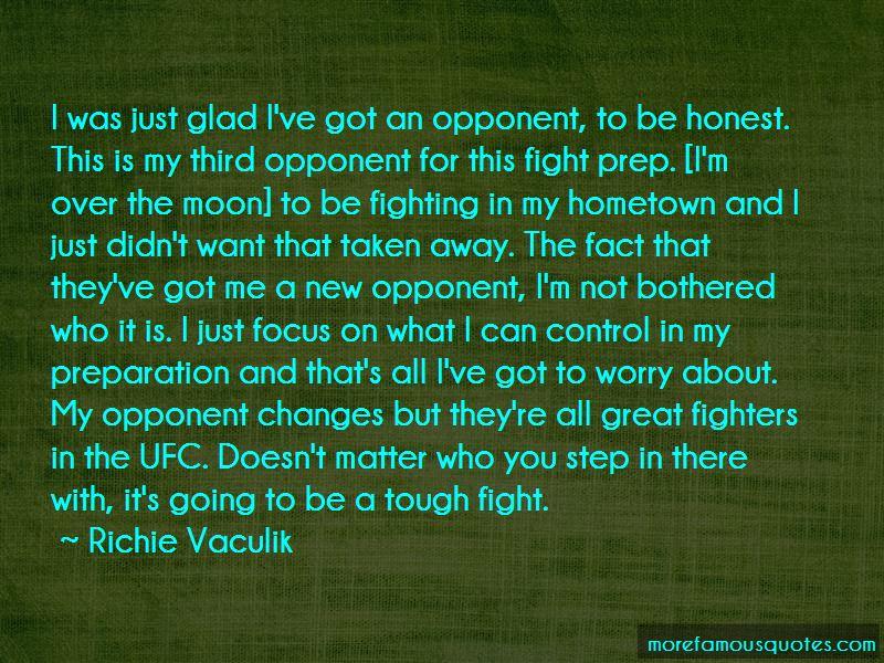 Richie Vaculik Quotes