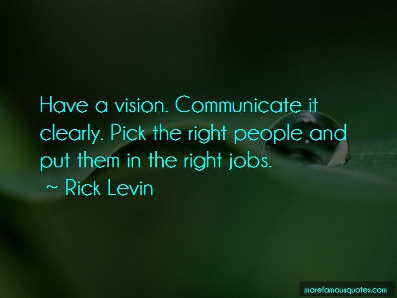 Rick Levin Quotes