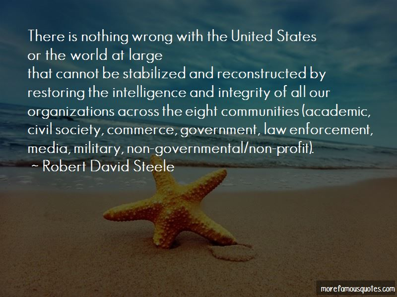 Robert David Steele Quotes Pictures 3
