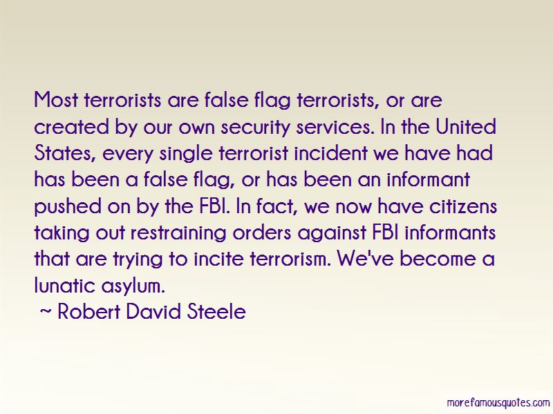 Robert David Steele Quotes