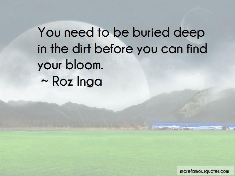 Roz Inga Quotes
