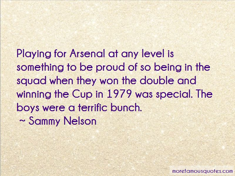 Sammy Nelson Quotes
