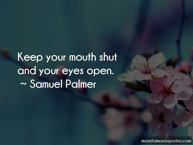 Samuel Palmer Quotes Pictures 3