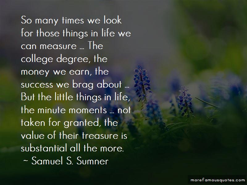 Samuel S. Sumner Quotes