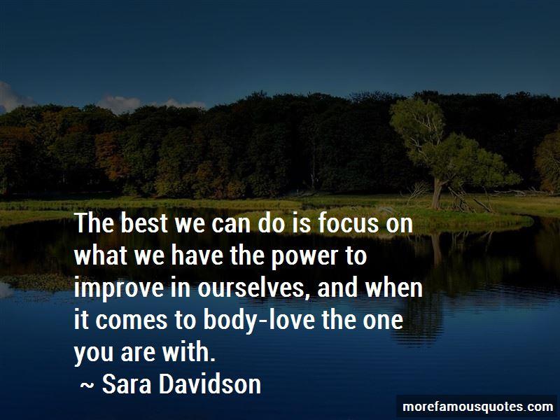 Sara Davidson Quotes Pictures 2