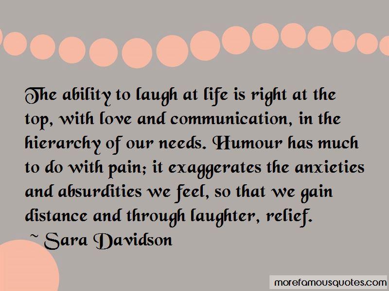 Sara Davidson Quotes Pictures 3