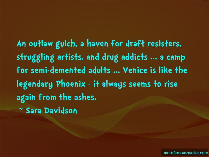 Sara Davidson Quotes