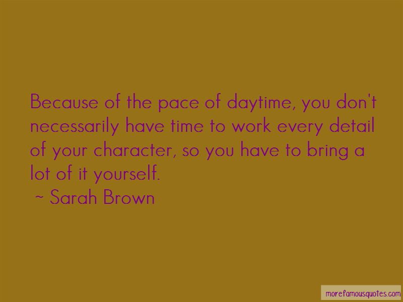 Sarah Brown Quotes Pictures 2