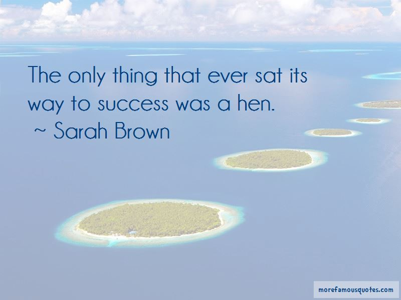 Sarah Brown Quotes Pictures 3