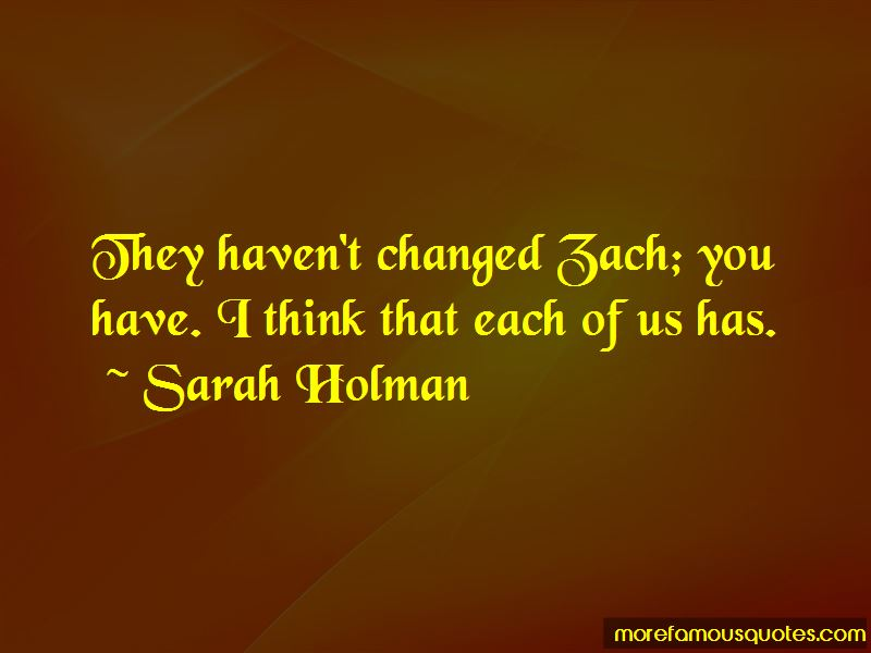 Sarah Holman Quotes Pictures 4