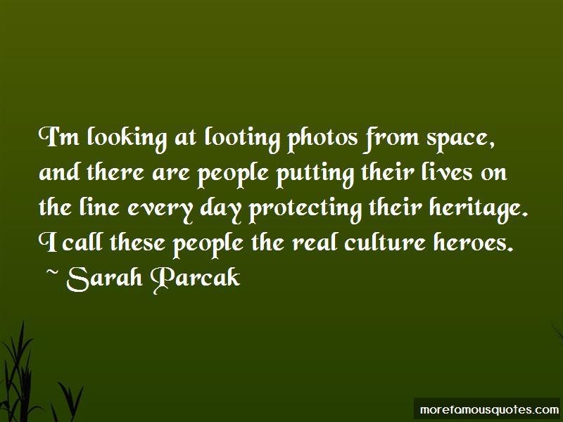 Sarah Parcak Quotes Pictures 2