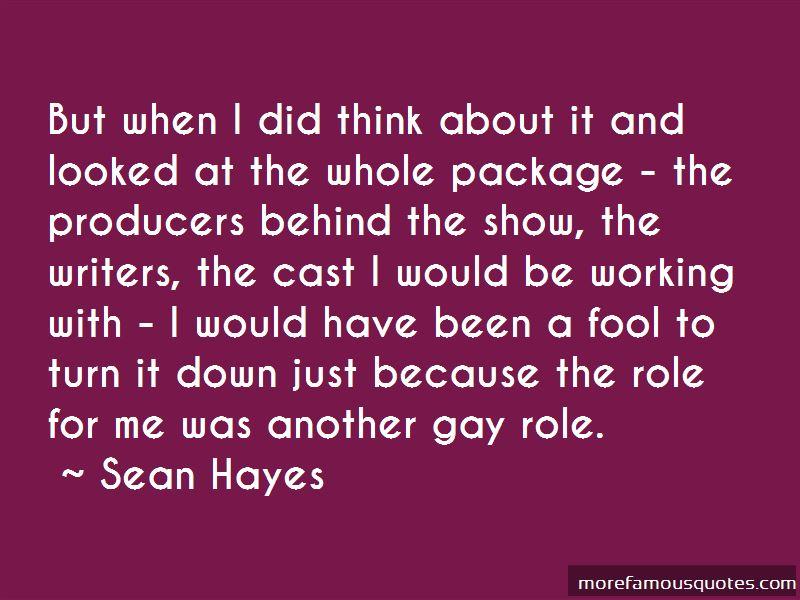Sean Hayes Quotes