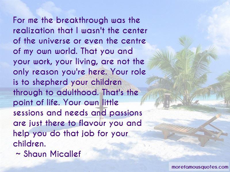 Shaun Micallef Quotes