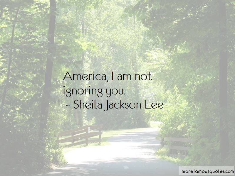 Sheila Jackson Lee Quotes Pictures 3