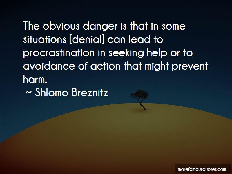 Shlomo Breznitz Quotes