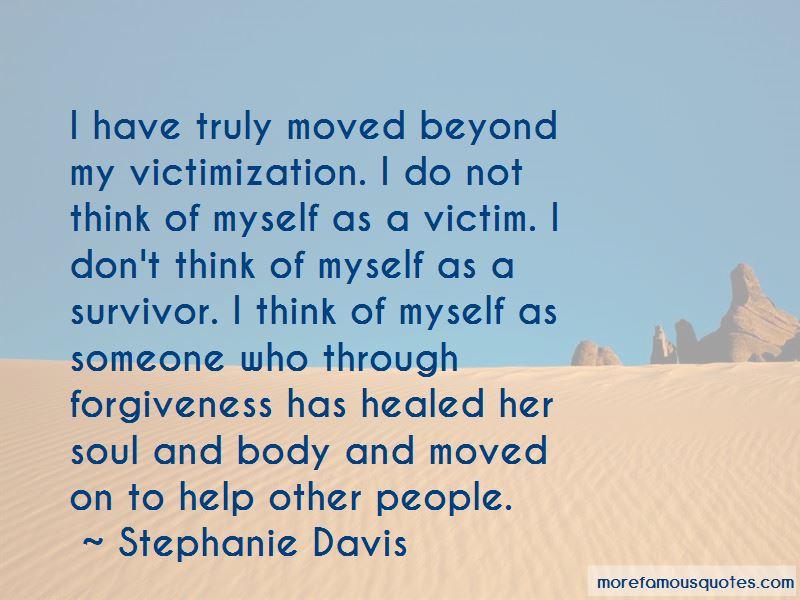 Stephanie Davis Quotes