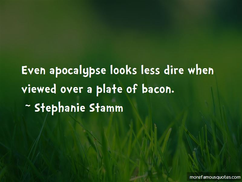 Stephanie Stamm Quotes