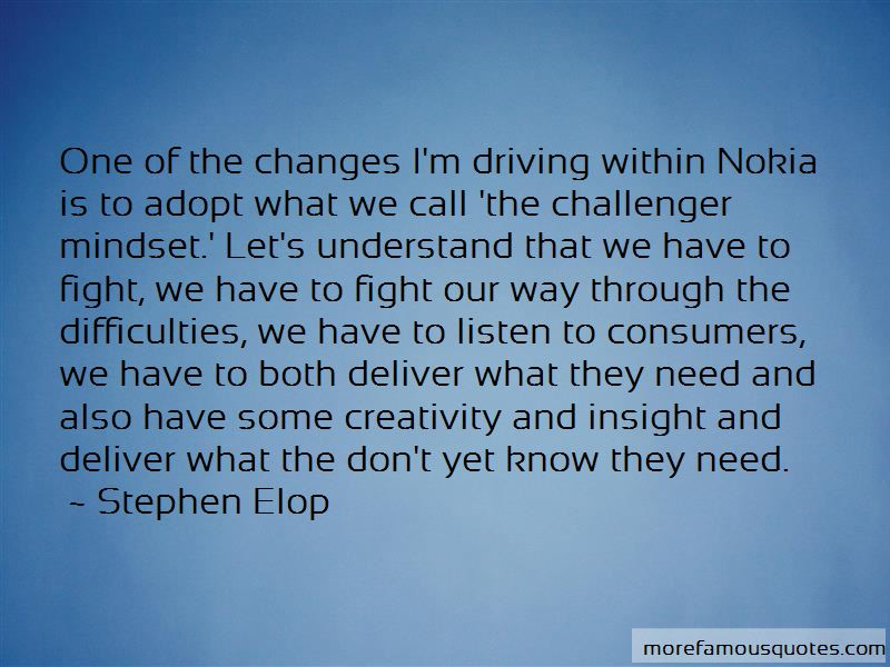 Stephen Elop Quotes Pictures 2