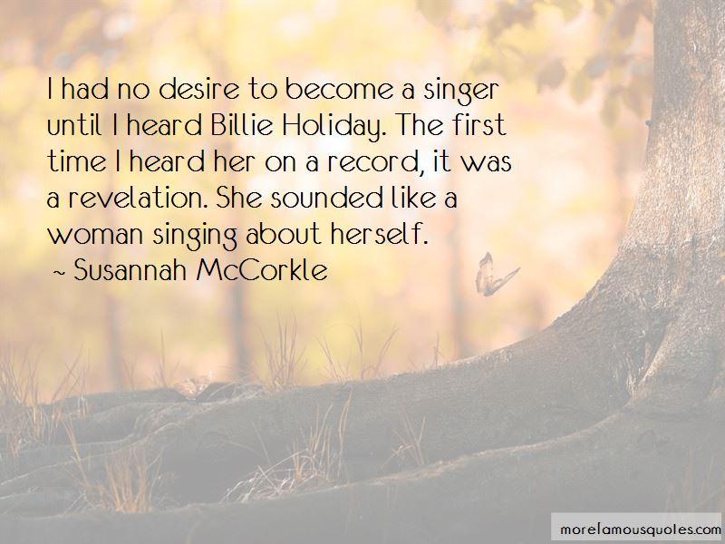 Susannah McCorkle Quotes Pictures 2
