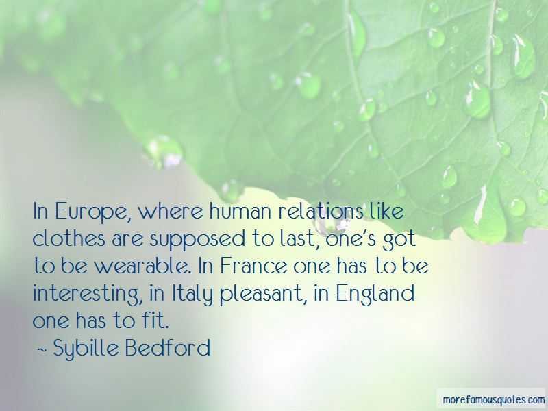 Sybille Bedford Quotes Pictures 4