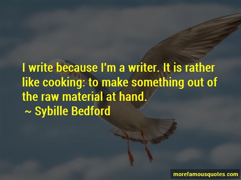 Sybille Bedford Quotes