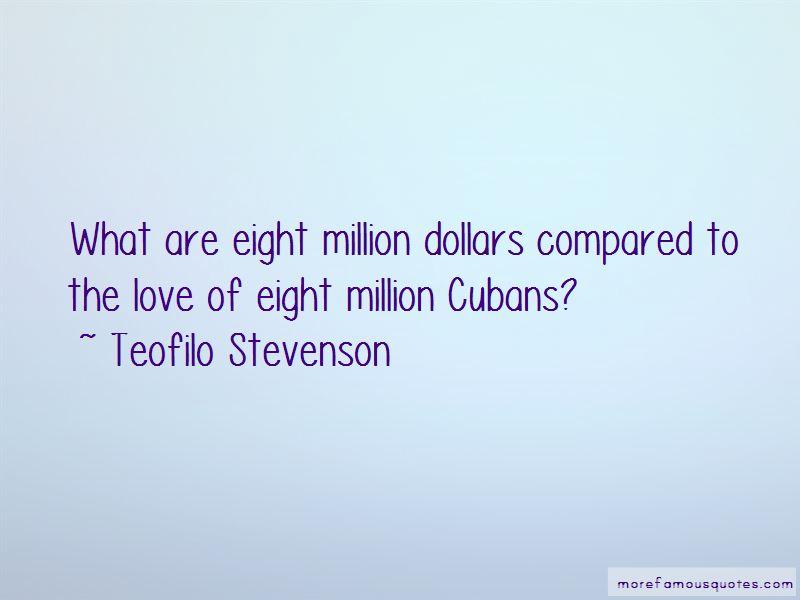 Teofilo Stevenson Quotes