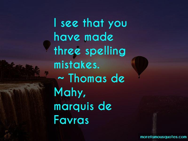 Thomas De Mahy, Marquis De Favras Quotes