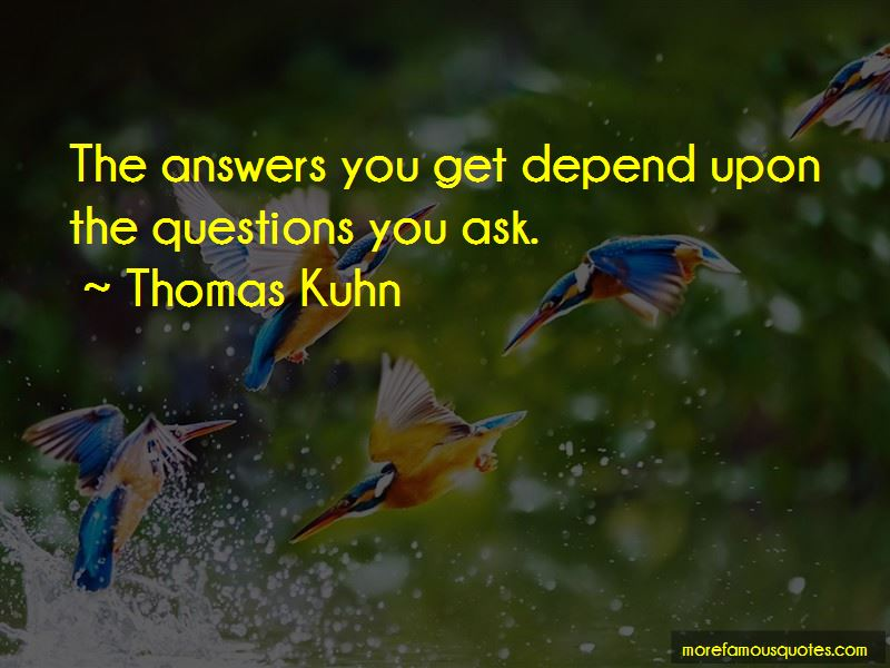 Thomas Kuhn Quotes Pictures 4