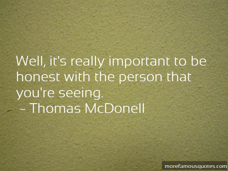 Thomas McDonell Quotes Pictures 3