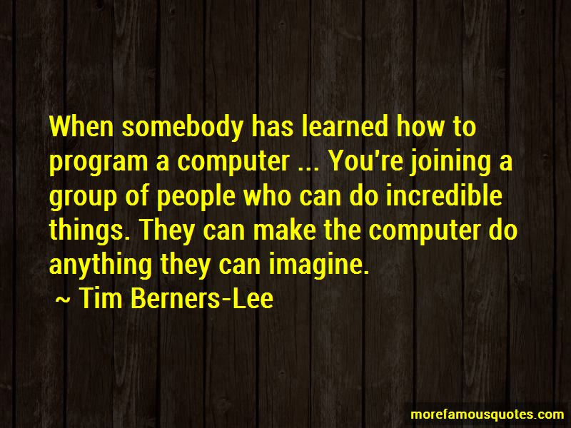 Tim Berners-Lee Quotes Pictures 2