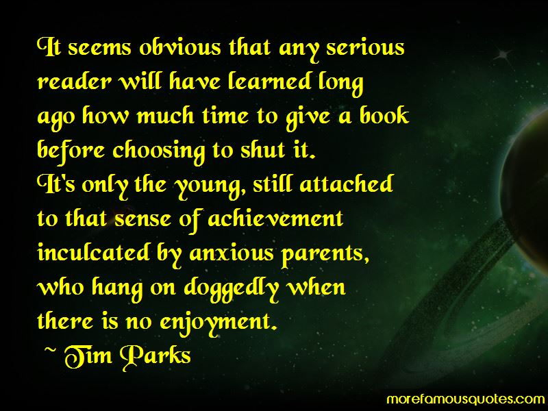 Tim Parks Quotes Pictures 4