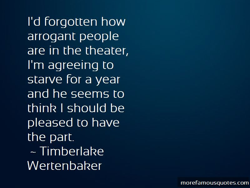 Timberlake Wertenbaker Quotes Pictures 2