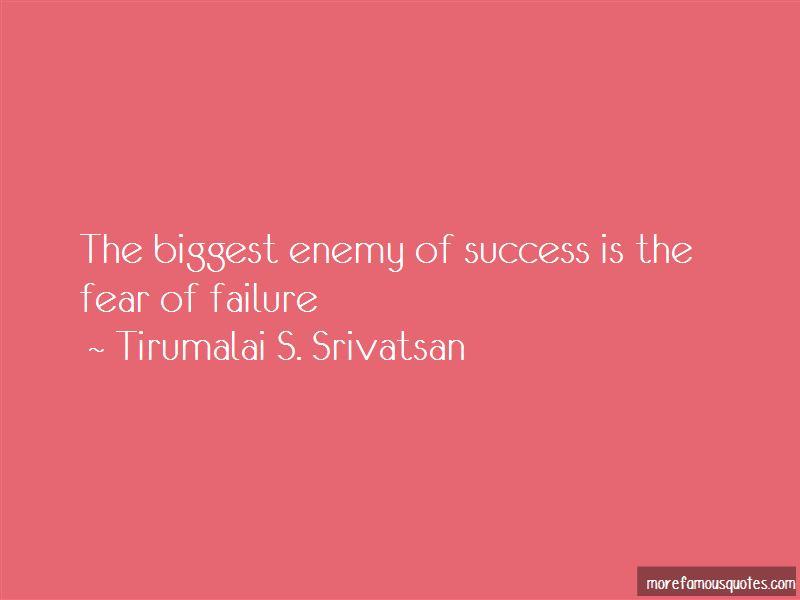 Tirumalai S. Srivatsan Quotes Pictures 2