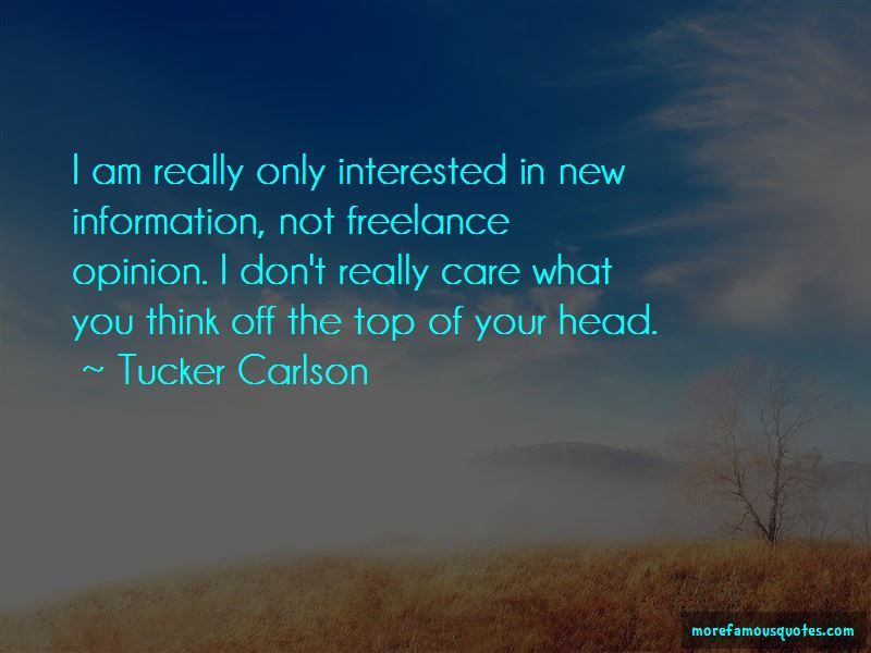 Tucker Carlson Quotes Pictures 2