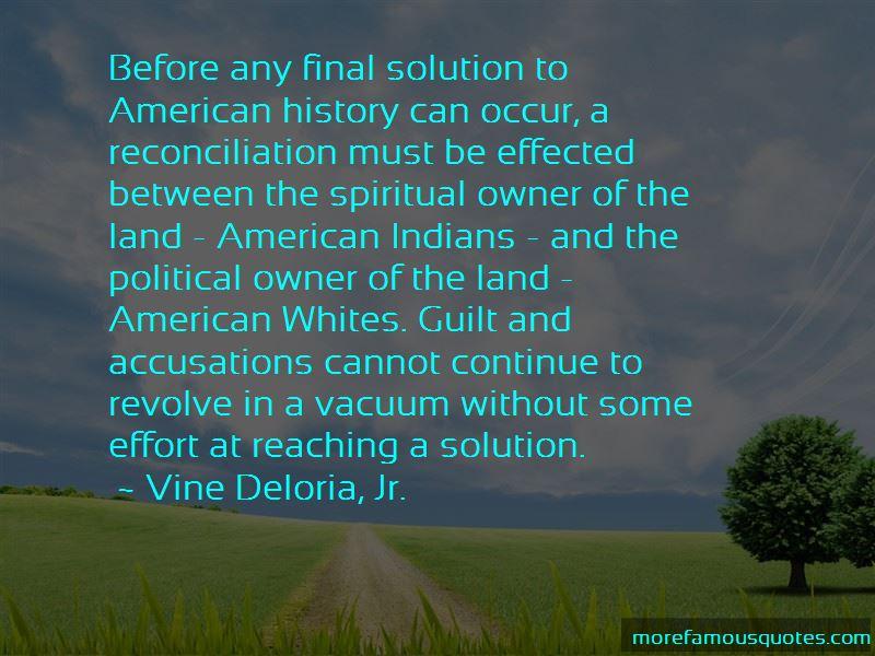 Vine Deloria, Jr. Quotes