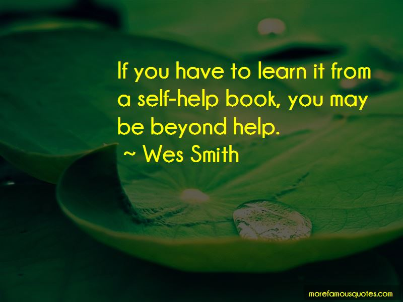 Wes Smith Quotes Pictures 3