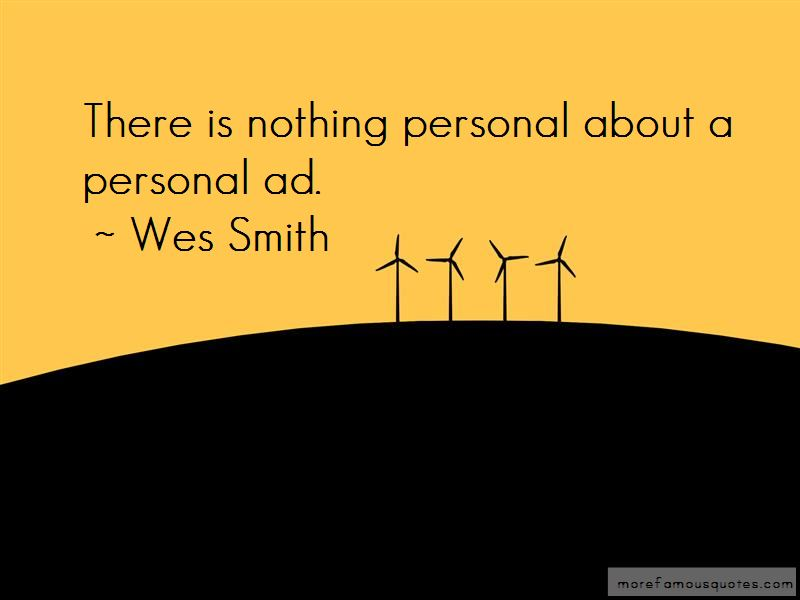 Wes Smith Quotes
