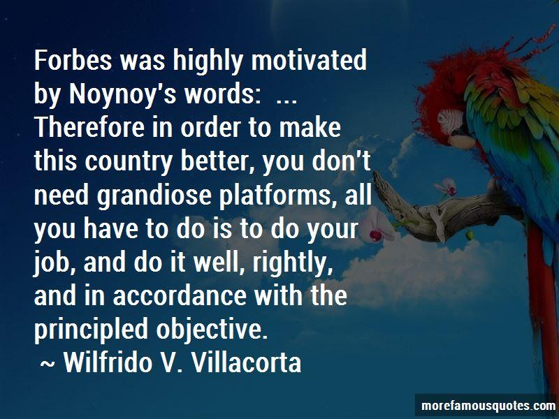 Wilfrido V. Villacorta Quotes Pictures 2