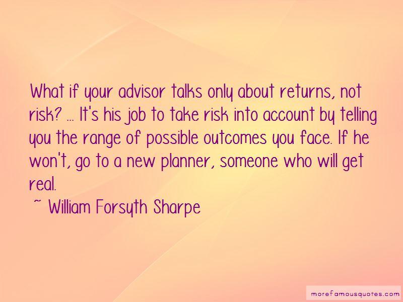 William Forsyth Sharpe Quotes