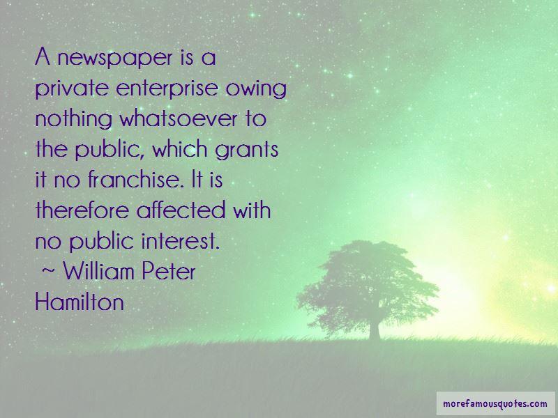 William Peter Hamilton Quotes Pictures 2