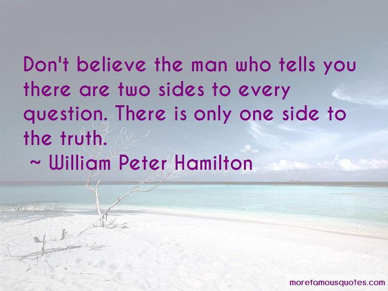 William Peter Hamilton Quotes