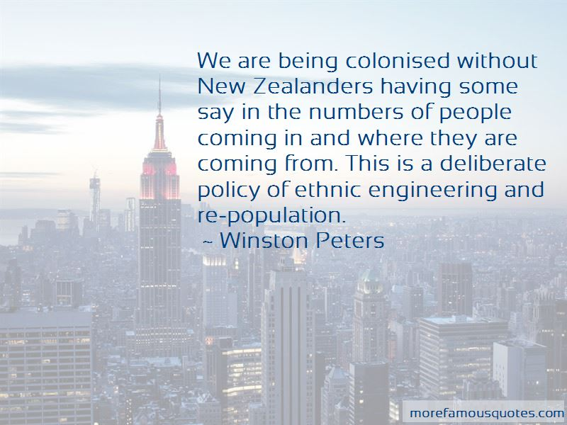 Winston Peters Quotes