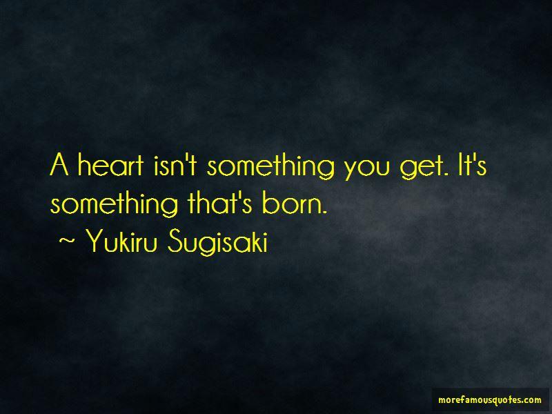 Yukiru Sugisaki Quotes Pictures 2