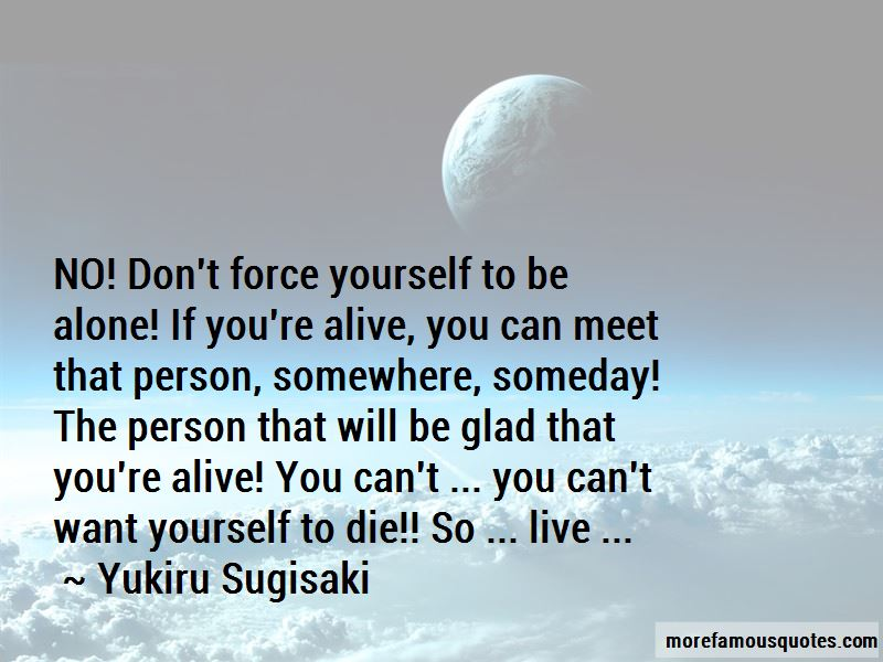 Yukiru Sugisaki Quotes
