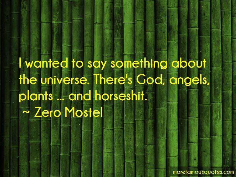Zero Mostel Quotes